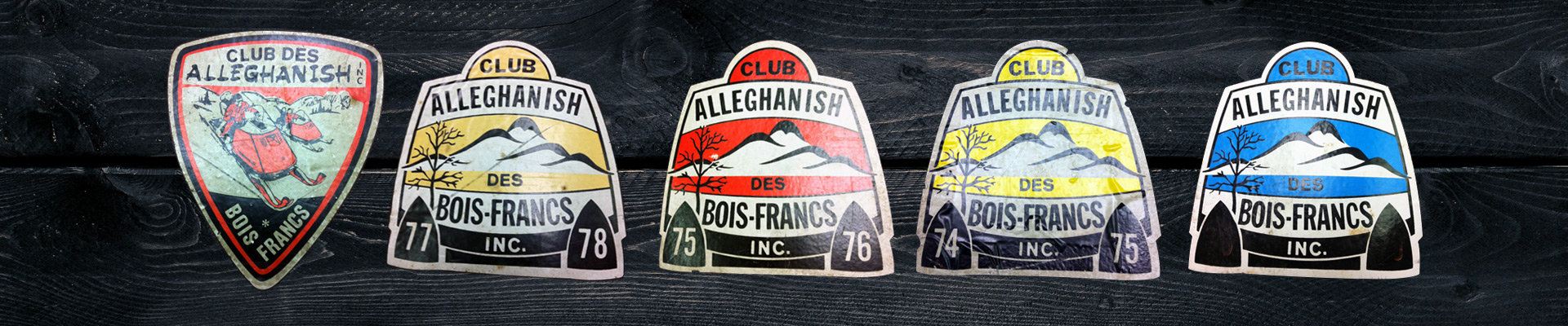 Badges - Club de motoneige Alleghanish Bois-Francs